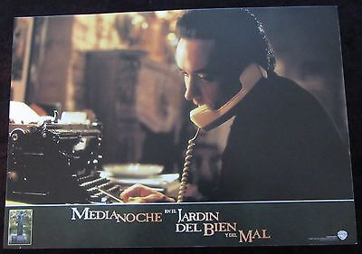MIDNIGHT IN THE GARDEN OF GOOD AND EVIL lobby card  # 10 - JOHN CUSACK