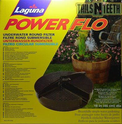 Laguna PowerFlo Underwater Round Filter - For ponds up to 500 Gallons PT1750