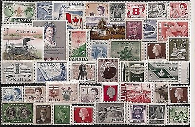 vintage MINT UNUSED FULL GUM CANADA Canadian postage stamps lot C12M  MNH