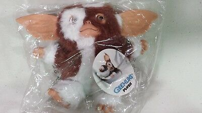 "NECA GREMLINS GIZMO PLUSH 6"" SMILING FACE DOLL TOY MOGWAI Gremlin new in bag"