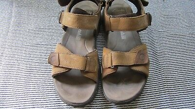 76f93feae77 CLARKS MAX CUSHION RAFFE SUN MENS BROWN LEATHER SANDALS Uk SIZE 10 USA 11
