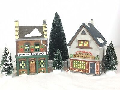 Dept 56 Dickens Village Series - Start A Tradition Set Retired 1996