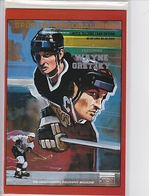 Wayne Gretzky Sports Personalities Comic Book (1991)
