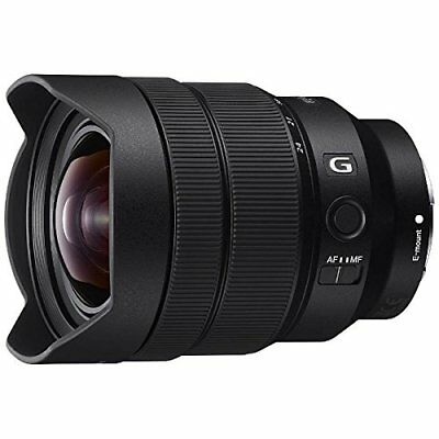 Sony zoom lens FE 12-24 mm F4 G E mount 35 mm full size compatible SEL1224G