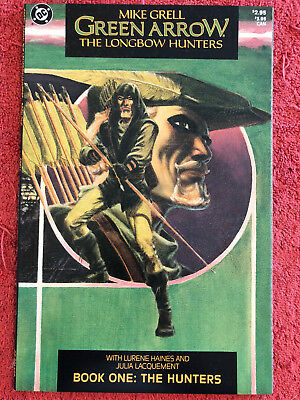 Green Arrow The Longbow Hunters 1 DC Lot of 1 1987 Grell Haines Lacquement