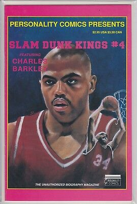 Charles Barkley Slam Dunk Kings Vol 4 By Personality Comics (1992)