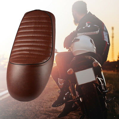 Retro Motorcycle Seat Hump Cafe Racer Saddle Cushion Pad for Honda CG125 MA1646