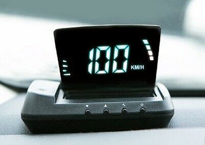 Universal Automatically Flip-Up Down Head-Up Display, OBDII HUD, NEW TYPE!