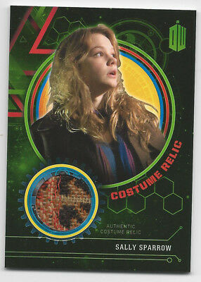2016 Doctor Who Extraterrestrial Encounters Costume Relic SALLY SPARROW 422/499