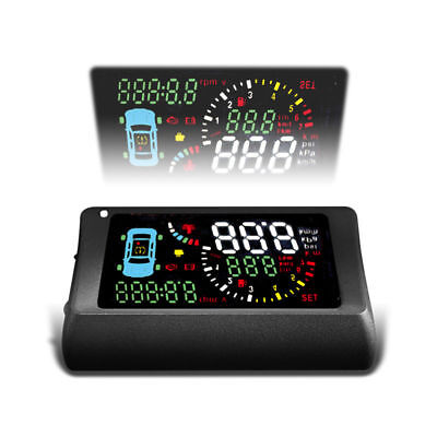 TSA S500 Type OBD 2(II) HUD KM/(h) & MPH both Rpm/Speed/battery voltage/water