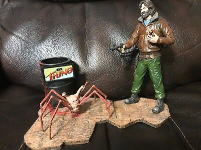 The Thing 1982 McReady & Spiderhead Build Up Resin Kit