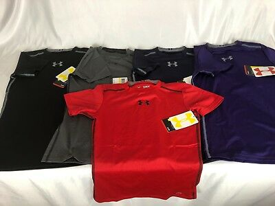 Under Armour UA Boys' Short Sleeve Sonic Fitted T-Shirt $19.99 MSRP