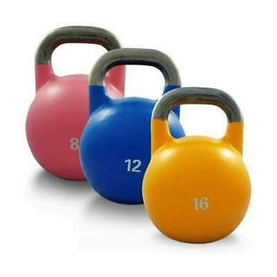 Morgan Comp Steel Kettlebell 3 Pack 8kg 12kg 16kg Gym Equipment CF-25-3PCS PACK