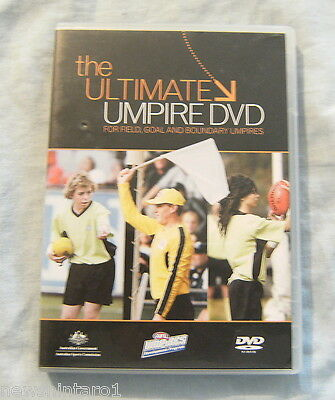 #bb.  Afl Training  Dvd - The Ultimate Umpire