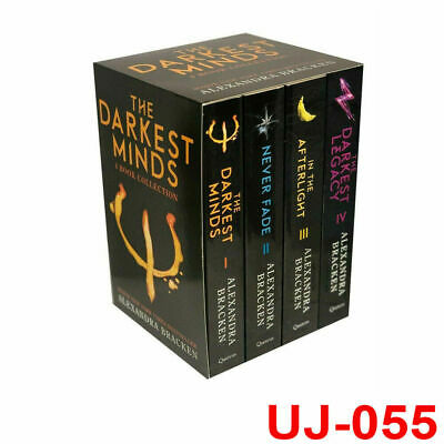 The Darkest Minds Series by Alexandra Bracken 4 Books Collection Set Exclusive
