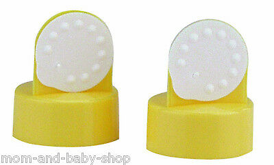 MEDELA BREAST PUMP SPARE PART VALVE MEMBRANE VALVES MEMBRANES 2 pk #87089
