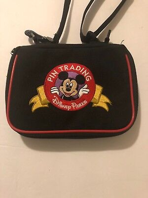 Disney Parks Small Mickey Logo Pin Trading Bag New With Tag