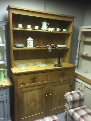 Antique Pine Victorian French Farmhouse Dresser,Furniture Showroom Kent