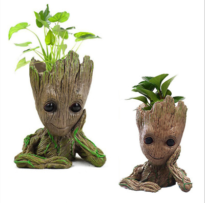 I am Groot Pen Pot The Avengers Guardians of The Galaxy Cute Baby Tree Man Gifts