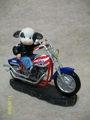 Pepsi Generation - Motorcycle Figurine
