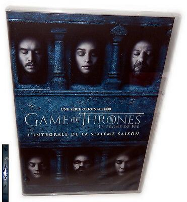 Game of Thrones - Die komplette Staffel/Season 6 [DVD] GoT Deutsch(er) Ton