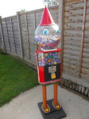 20P Coin Operated Capsule Bouncy Ball Vending Machine