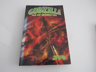 Toho Godzilla Age of monsters Titan books Graphic Novel