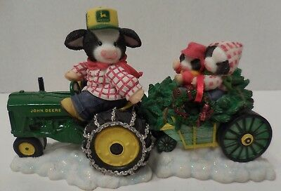 "John Deere ""The Deere-st Tree for Moo and Me"" Mary Moo Moos #549207 Tractor 1999"