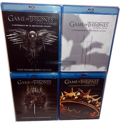 Game of Thrones  Staffel/Season 1,2,3,4 [Blu-Ray] 19-Disc Set Englisch English