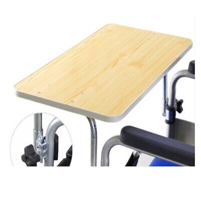 Durable Wood Wheelchair Table Wheelchair Lap Tray for Eat, Read Heavy Duty