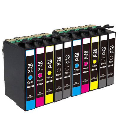 10x Ink Cartridges for Epson XP-245 XP-247 XP342 XP-345 XP-442 XP-445 XP-332 235