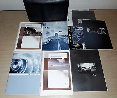 2007 Lincoln MKZ Original Owner's Manuals w/ Case