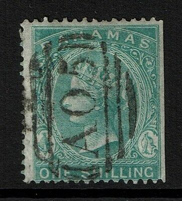 Bahamas SG# 44a, Used, Hinge Remnant, Straight Edge  - Lot 111516
