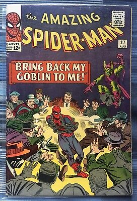 "AMAZING SPIDER-MAN #27 - ORIGINAL MARVEL COMIC ""Bring Back My Goblin to me!"