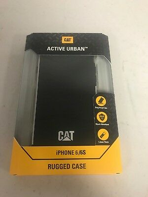 CAT Caterpillar Active Urban iPhone 6 and 6S Rugged Black Phone Case - New acf410a92df