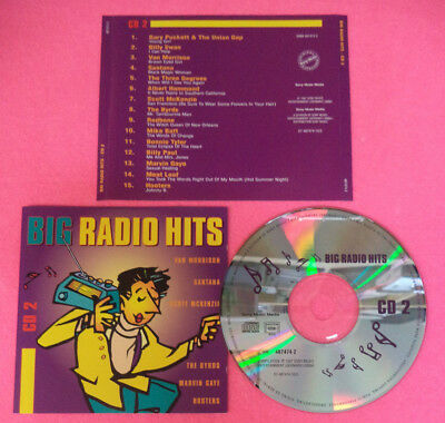 CD Compilation BIG RADIO HITS cd 2 1997 Santana Van Morrison Hooters no mc (C24)