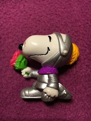 Snoopy Peanuts Whitman S Figur Valentinstag Snoopy Als Ritter Mit