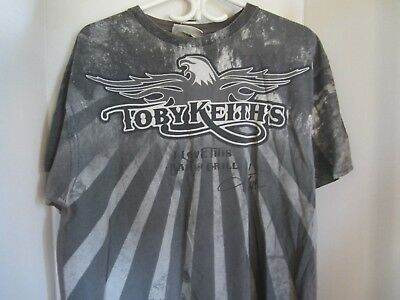 """TOBY KEITH   """" I love this bar""""   t shirt    size   XL"""