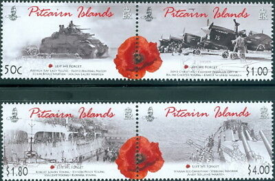 Pitcairn Islands At War ?? 2010-2014-2018 Issues Superb Mnh