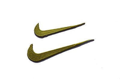 NIKE Embroidered Iron On / Sew On Patches Badges Logo Sport-0228-29
