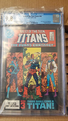 Tales of the Teen Titans #44, first Nightwing, CGC 9.8, DC