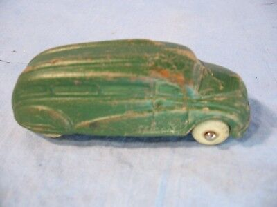 Antique Sun Rubber Toy Car