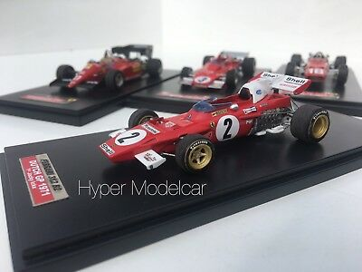 Tameo Kit 1/43 F1 Ferrari 312 B2 #2 Winner Dutch Grand Prix J. Ickx 1971 SLK116