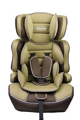 Portable 3 in 1 Booster Safety Child Baby Car Seat Group 1+2+3 9-36KG ECER44/04