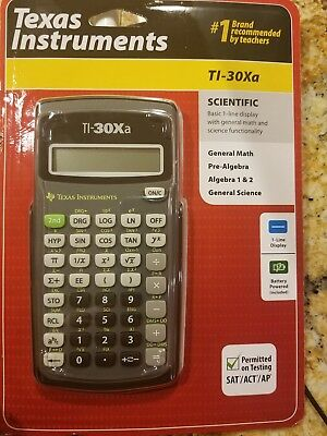 Texas Instruments TI-30Xa Scientific Calculator , New Great Christmas stocking