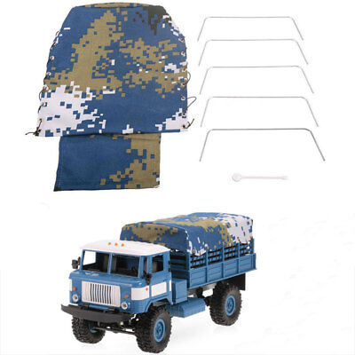 Hood Cover Case Cloth Canvas Truck For RC Car For WPL B-24 1/16 Militar Vehicle