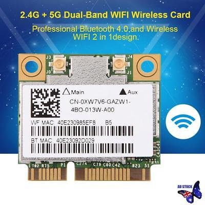 Broadcom BCM94352HMB Azurewave AW-CE123H PCI-E 867M Wireless WIFI Card BT 4.0
