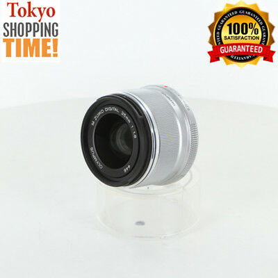 [EXCELLENT+++] OLYMPUS M. Zuiko Digital 25mm F/1.8 Silver Lens from Japan