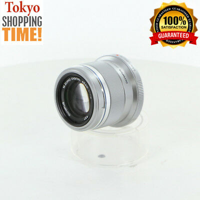 [EXCELLENT+++] OLYMPUS M. Zuiko Digital 45mm F/1.8 Silver Lens from Japan