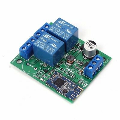2 Channel 2bit Relay Module Bluetooth 4.0 BLE Switch for Apple Android Phone IOT